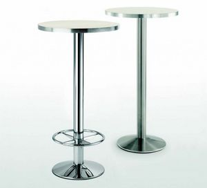 4154R, Base de mesa de metal con reposapiés