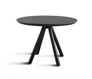 ART. 0098-4 AKY CONTRACT, Base para mesa de diseño de barra, de madera, con 4 patas