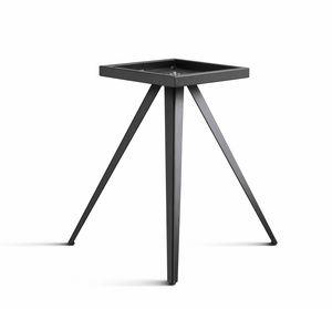 ART. 0099-3 AKY CONTRACT, Base de mesa de diseño, en metal, con 3 patas