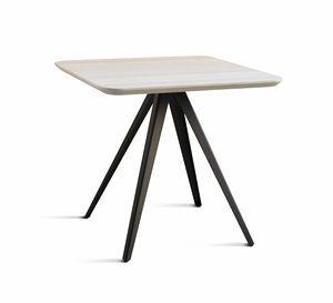 ART. 0099-4 AKY CONTRACT, Base para mesa de centro de diseño, con 4 patas, en metal