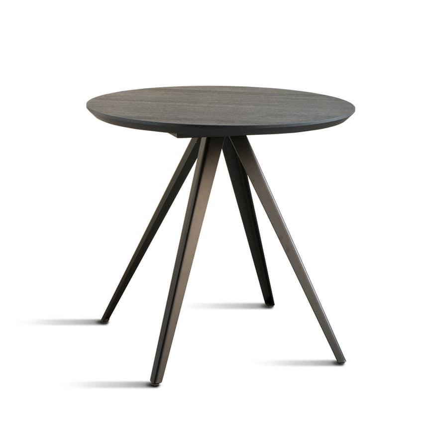 ART. 0099-4 CONTRACT, Base metálica para mesas de contrato