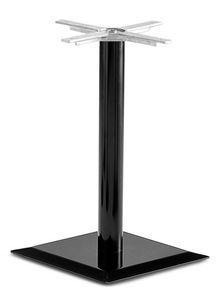 Art.250, Base cuadrada de la mesa, con un tubo central en metal, por contrato y uso doméstico