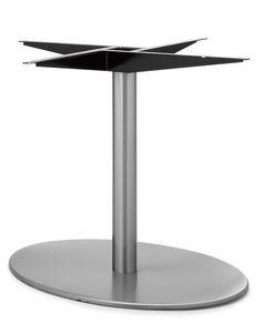 Art.290/EL/4, Base de la mesa elíptica, estructura de metal, por contrato y uso doméstico