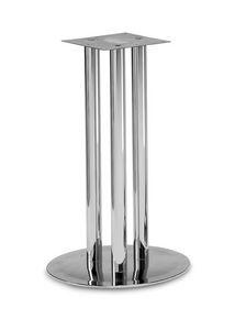 Art.500, Base de la mesa redonda, estructura de 3 tubos, por contrato y entorno doméstico