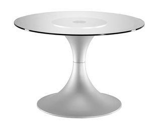Art.710/AL, Base de la mesa redonda, marco de aluminio, para uso doméstico y contrato