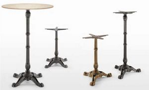 art. Bistrot, Fundas de mesa de hierro fundido
