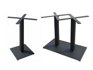 Bar, Bases de hierro para mesas de bar