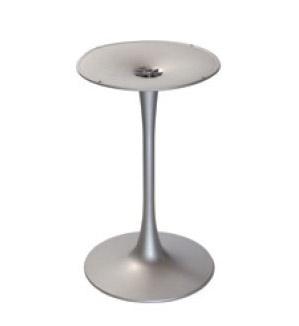Base Venus round cod. BGP, Base redonda de mesa de un bar, en el polímero
