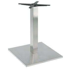 Firenze 9018, Base de mesa para bares, base y columna en acero