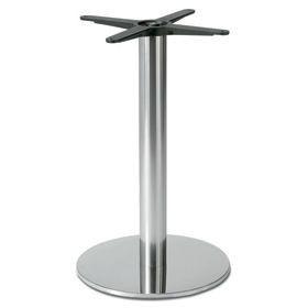 Firenze 9028, Básica mesa baja, base y columna en acero
