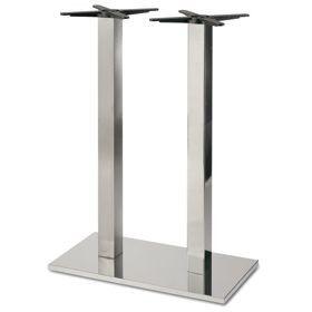 Firenze 9517, Base de mesa de bar, base y columna en acero
