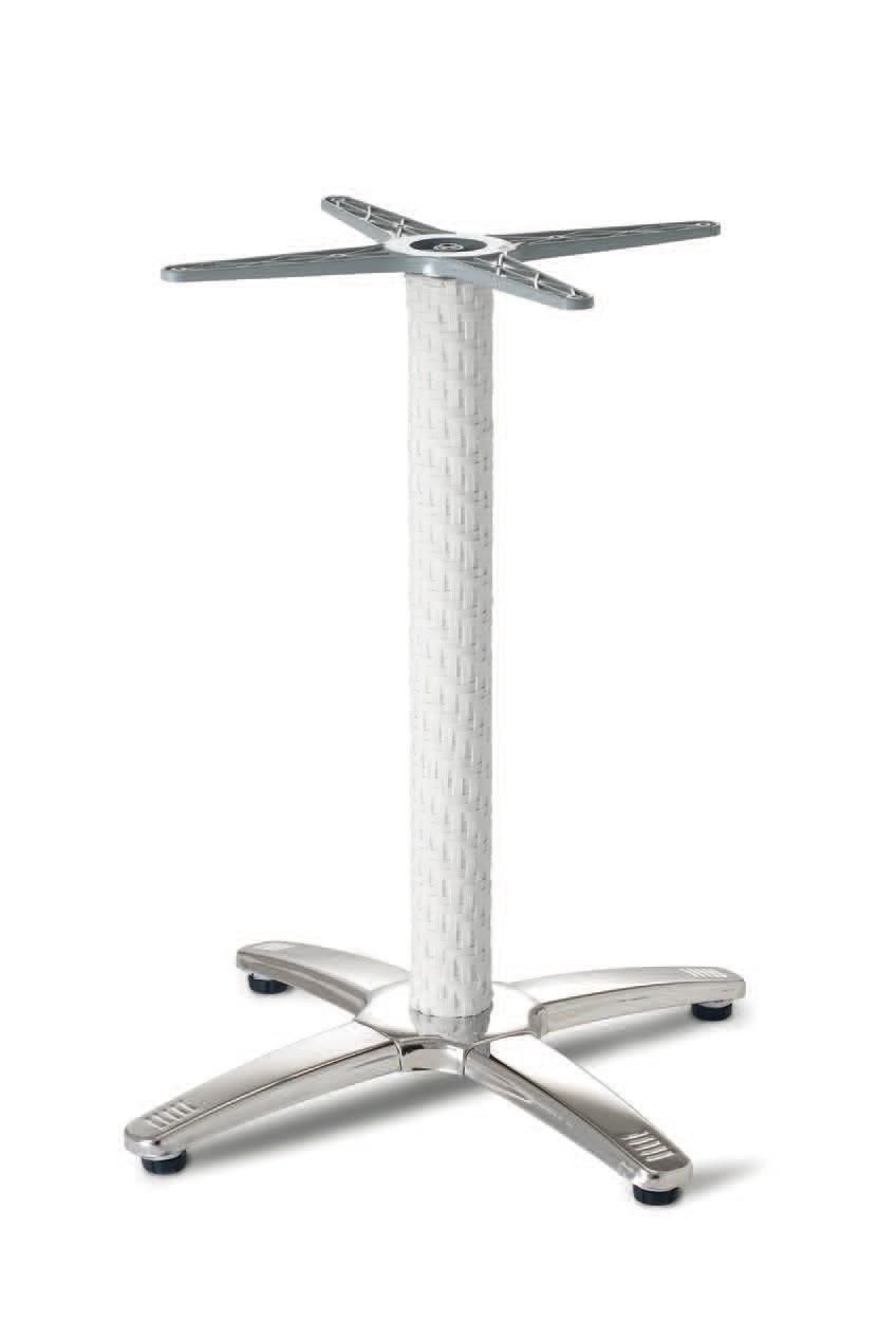 FT 048 / R, Tejida de base para la mesa, de aluminio y acero