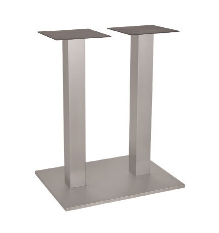 FT 060 Doble Columna, Base para mesa, de metal, con 2 columnas, para bar de vinos
