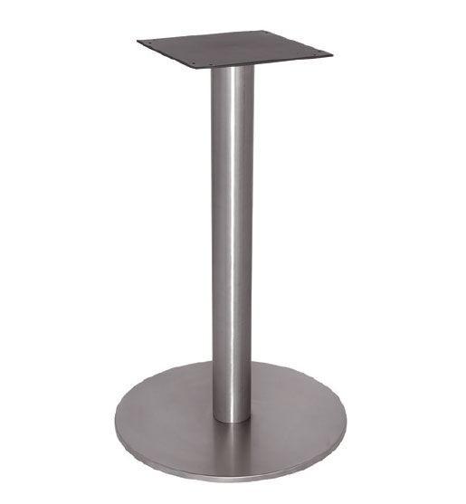 FT 065, Base de la mesa de café, enteramente en acero pulido