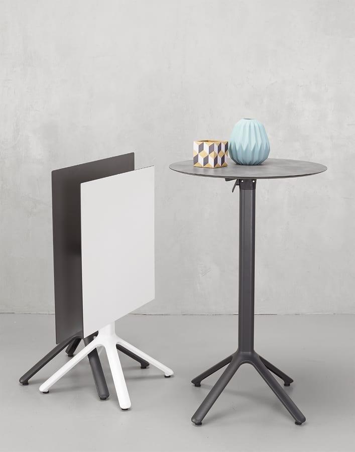 FT 800, Base de mesa de aluminio