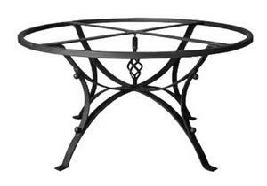 Hydra, Base de mesa en hierro decorado