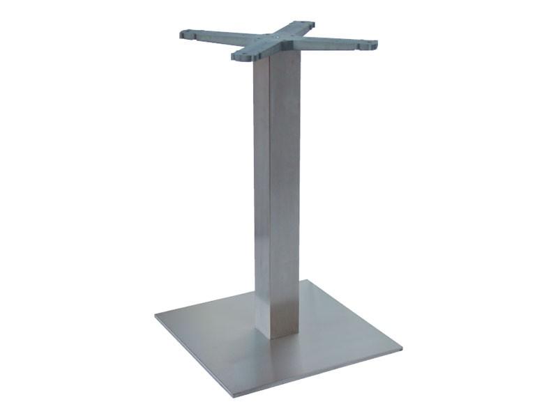 Indoor base cod. I45x45, Base de la mesa de acero inoxidable para heladerías