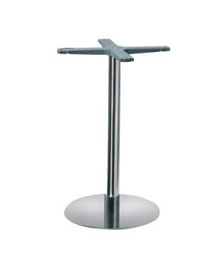 Indoor base cod. I47C, La base de metal para mesa de bar