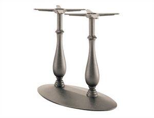 Randa 727, Base de mesa de hierro fundido con doble columna