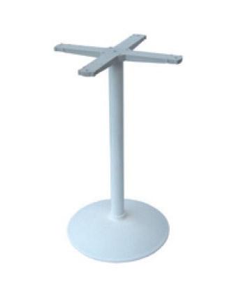 Round base cod. BRCV, La base de metal para mesa de bar, de metal pintado
