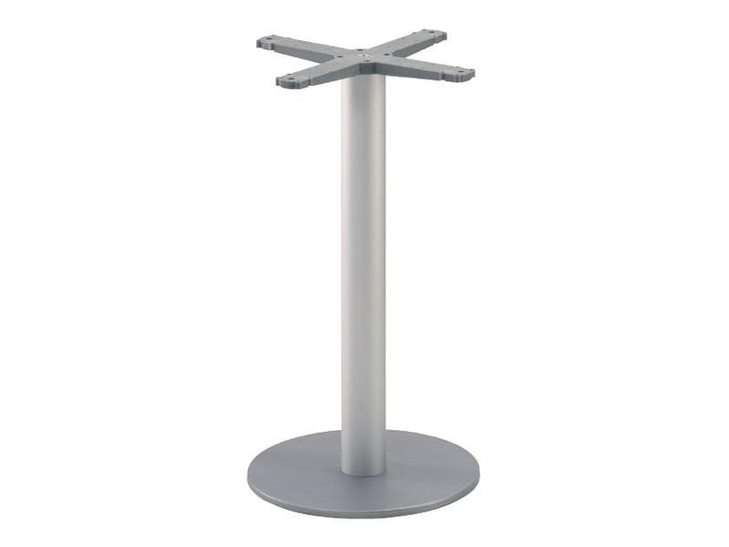Round base cod. BRK, Ejes para la mesa de metal, para confitería y heladerías