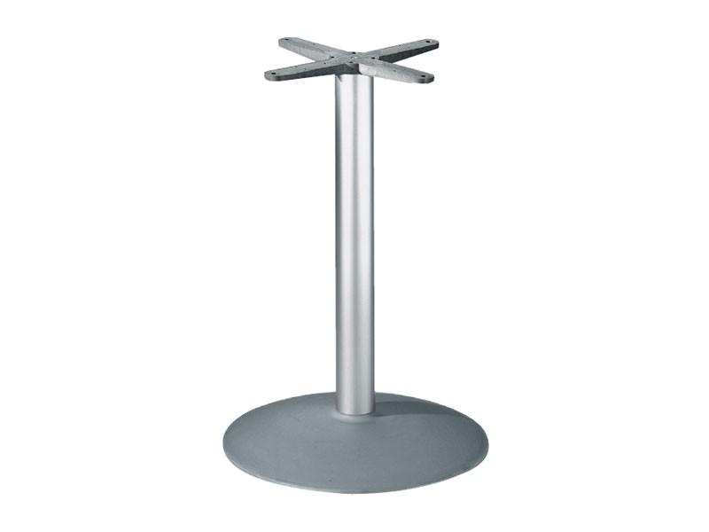 Round base h 115 cod. BTAK54, Base de la mesa redonda en aluminio