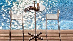 Summer set base 3, Base para mesa de bar, en forma de cruz, para al aire libre