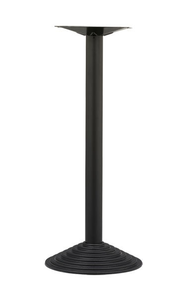TG04 H110, Base de metal de alta de la tabla, para bares y restaurantes