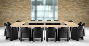 AXI 680, Sillón tapizado por completo, para salas de reuniones
