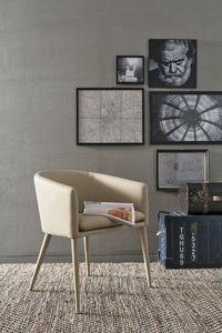 BALTIMORA PT600, Sillón moderno ideal para bares y apartamentos