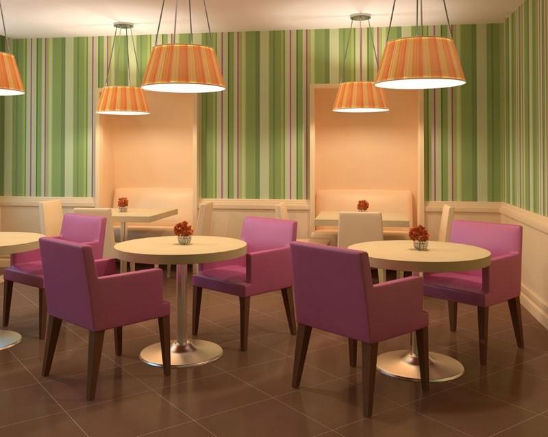 C04, Haya tapizar, para cenar y salas de espera