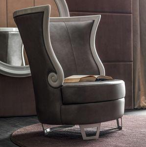 Gaudì Art. 637, Elegante sillón con respaldo alto