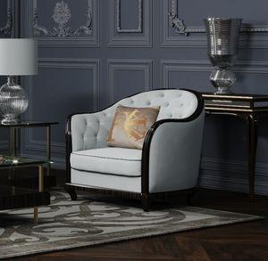 New York/CL sillón, Sillón en madera maciza