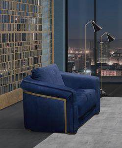 PO77 Desyo sillón, Elegante sillón con formas suaves.