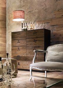 XIAN wood, Mueble con cajones 10, en madera, en estilo chino