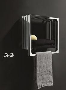 Montecarlo, Radiador de baño, con toallero y archivar