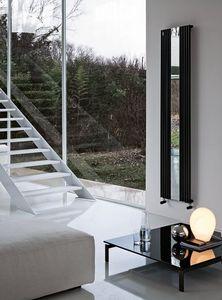 Reflex, Radiador decorativo, con espejo, hecho de acero