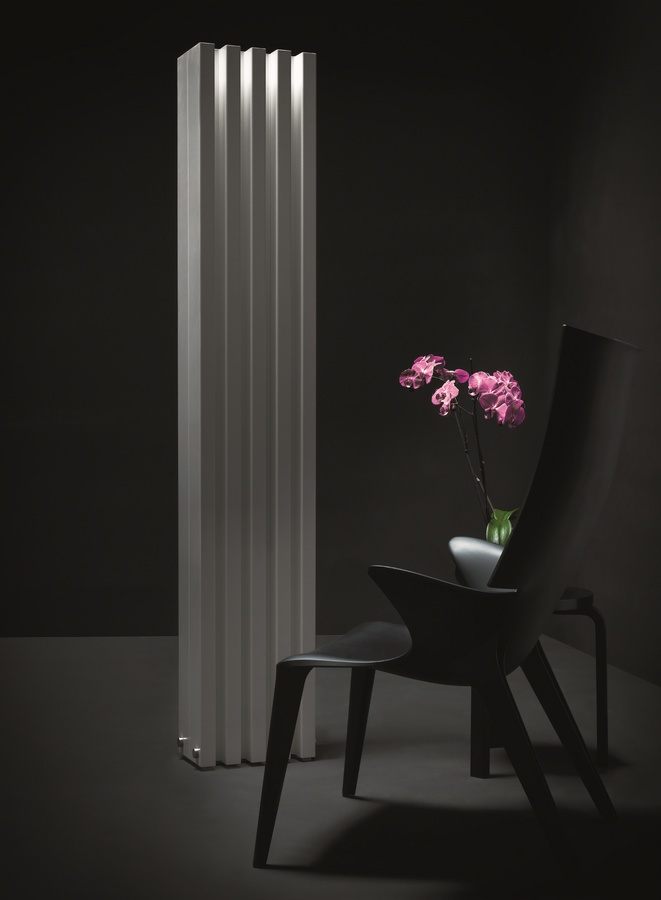 Soho, Radiador de pared, con un diseño contemporáneo