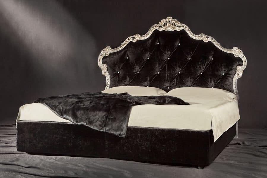 Contemporáneo Cabecera Acolchada Muebles Camas King Ideas - Muebles ...