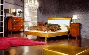 80-16 cama, Cama de pan de oro