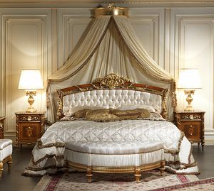 Art. 2011/K cama, Cama con cabecero capitonnè