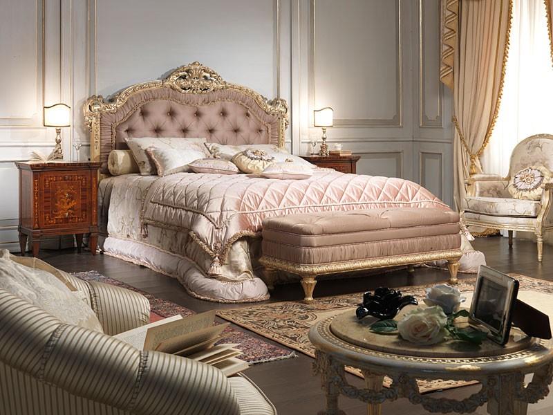 Art. 907 bed, Cama de estilo Louis XV, por habitación doble de lujo