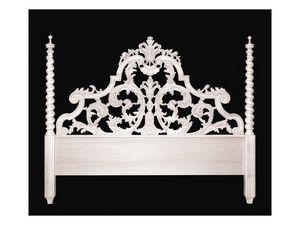 Bed art. 75/a Special, Cama de estilo clásico con cabecera con dos columnas