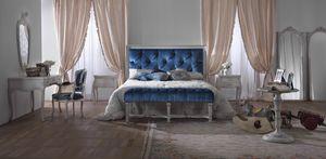 Easy cama, Cama clásica con cabecero capitonnè