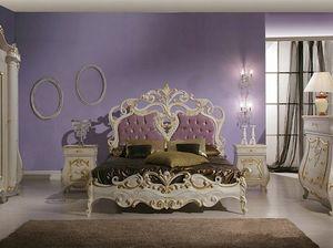 Isabel cama, Cama lujosa con tallas