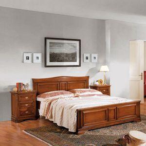 La Maison MAISON624T, Cama doble con cabecero en forma