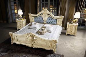 Madame Royale cama, Preciosa cama tallada