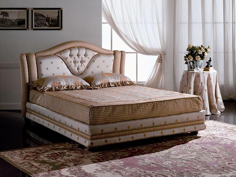 Cama doble acolchado cabecero con el marco idfdesign - Cabecero cama acolchado ...