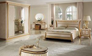 Melodia dormitorio 1, Dormitorio de lujo clásico, de villas y hoteles