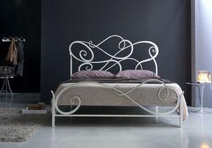 Aura cama de matrimonio, El hierro forjado cama clásico, para el dormitorio